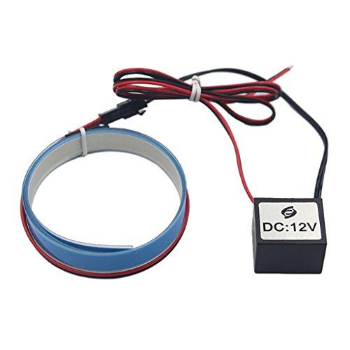 12v Elektrolumineszenz Panel El Band leuchtschnur Zurück Licht 6 Farben Mit Inverter - Blau, 0.38mm
