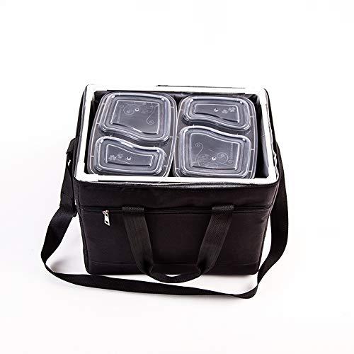 AFGH Faltbare Isolierbox zum Mitnehmen Lieferung handgehaltener Kleiner isolierter Eisbeutel Kühlschrank verdickte Picknicktasche tragbar multifunktional