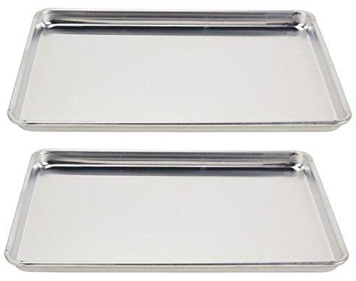 Vollrath (5303) Wear-Ever Half-Size Sheet Pans, Set of 2 (18-Inch x...