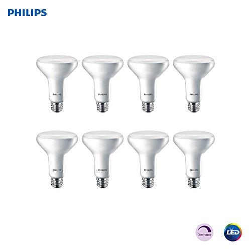 Philips LED 474098 Light Bulb, 8 Pack, Soft White, 8 Count