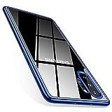 TORRAS Crystal Clear Kompatibel mit Samsung Galaxy Note 10+ Plus Hülle, Transparent [Anti-Gelb] Dünn Hülle Weiche Silikon Case Handyhülle Stoßfest Schutzhülle für Galaxy Note10+/5G - Blau