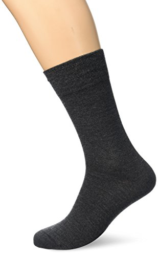 Dim Lana Caballero x 1 Calcetines cortos, Gris (Gris), 43/46 (Tamaño del fabricante:43/46) para Hombre