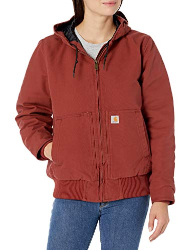 Carhartt Active Jacket WJ130 (Regular and Plus Sizes) Abrigo de utilidades de...