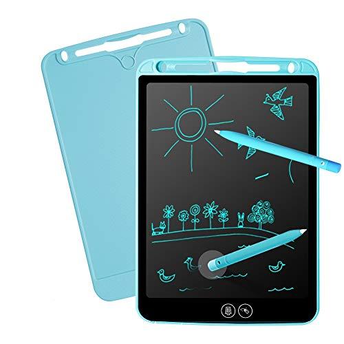 Tablets de Escritura LCD 10 Pulgadas Portátil Writing Tableta de Gráfica Dibujo Borrado Parcial con Botón de Bloqueo Ideal para Niños y Adultos