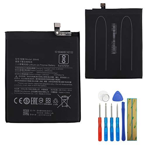Batería E-yiviil BN46 compatible con Xiaomi Redmi Note 8/Note 8T Redmi 7 Redmi Note 6/Note 6 PRO con herramientas