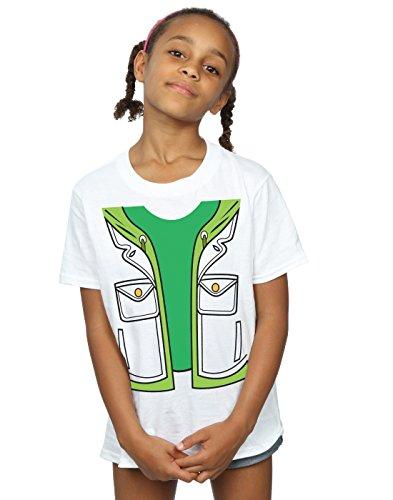 Big Bang Theory Girls Leonard Hofstadter Costume T-Shirt 5-6 Years White