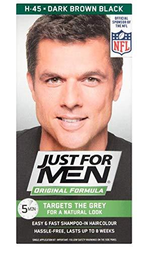 Just for Men Shampooing Marron foncé H45