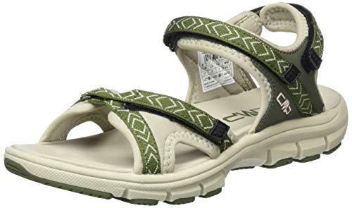 CMP – F.lli Campagnolo Almaak Wmn Hiking Sandal, Sandalias de Senderismo Mujer, Verde Kaki Sage 04fe, 38 EU