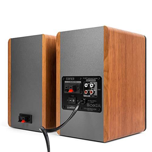 EdifierR1280Tパワードスピーカー高級ブックシェルフスピーカー2.0アクティブスタジオモニタースピーカーオシャレ木製エンクロージャ-42ワットRMS欧米売上トップ