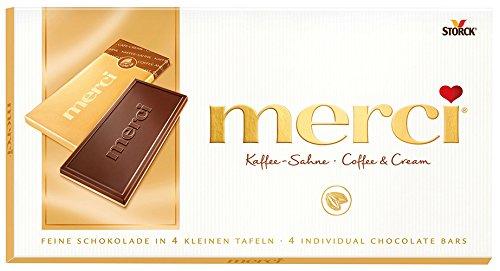 5x Merci - Kaffee-Sahne - 100g