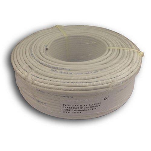 Cable alarma 6 hilos CAV4X022-2X050