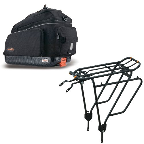 Best Price Ibera Parka IB-RA4 Touring Bicycle Carrier and Quick Release Bag