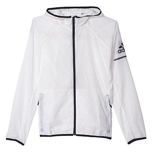 adidas Damen Sweatshirt Transparent WB, Weiß/Schwarz, XS, 4056561497304