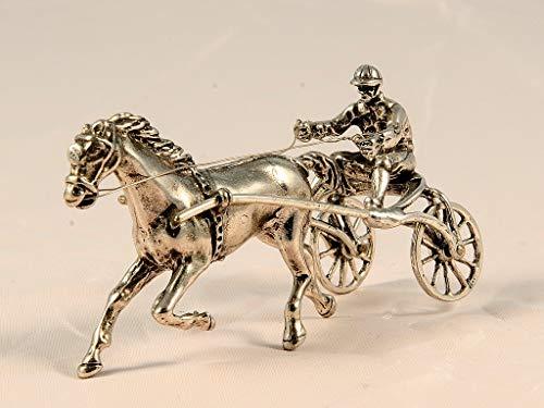 Paard met Fantastisch forelpaard Gewicht: 43 g, L 80 mm, L 30 mm, H 40 mm.