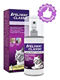 FELIWAY Spray Classic Spray, 60 mL - Reassures Cats During Car Travel, Veterinary Visits & Helps Control Unwanted Behaviours Like Urine Spraying, Scratching - (60 mL Spray, 1-Pack)