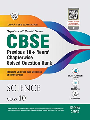 Together with CBSE Science Previous 10+ Years Question Bank for Class 10 ( 2019-2020 Examination)