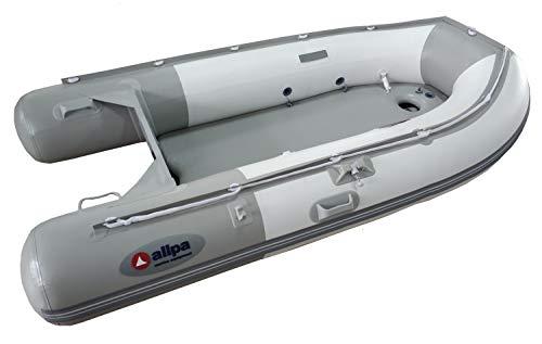 Saarwebstore Allpa Profi Schlauchboot SENS-Alu mit Aluminium Einlegeboden Angelboot Ruderboot Größe SENS 265-alu