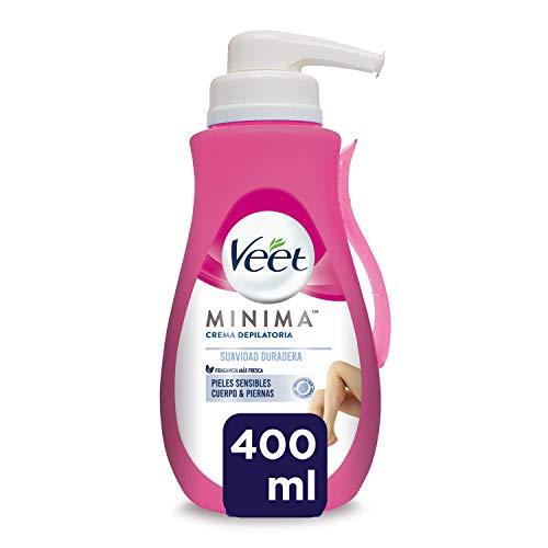 Veet Veet Crema Depilatoria Corporal Para Usar Bajo La Ducha Para Mujer - Con Dosificador - Piel Sensible - 400Ml 400 Unidades 400 ml