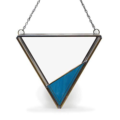GHKT Contenedor de Vidrio suculents Colgadas de Cristal Transparente triángulo Pared Plantas de Envases de Vidrio de sobremesa Las suculentas Las suculentas Gas Accesorios de Paisaje