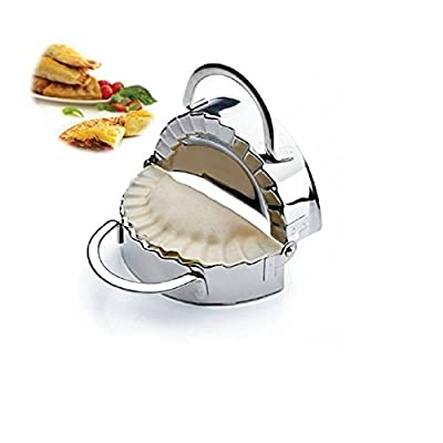 New Stainless Steel Ravioli Mould Dumpling Maker Mold Wrapper Pierogie Pie Crimper Pastry Dough Press Cutter Kitchen Gadgets (S 3inch) by