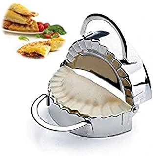 New Stainless Steel Ravioli Mould Dumpling Maker Mold Wrapper Pierogie Pie Crimper Pastry Dough Press Cutter Kitchen Gadgets (S 3inch)