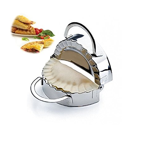 New Stainless Steel Ravioli Mould Dumpling Maker Mold Wrapper Pierogie Pie Crimper Pastry Dough Press Cutter Kitchen Gadgets S 3inch