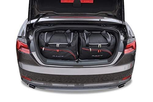 KJUST Dedizierte Kofferraumtaschen 4 STK kompatibel mit Audi A5 Cabrio B9 2017 -