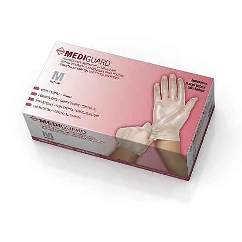 Medline Mediguard Vinyl Synthetic Exam Gloves_P