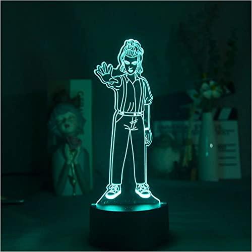 Lámparas 3D Para Mesita De Noche Base Bluetooth Película Once Extraño Decoración Linterna Be Night Dormitorio Lámpara De Araña