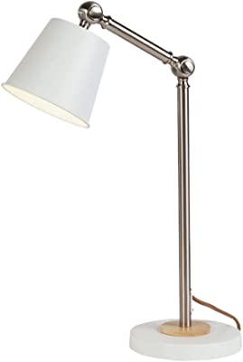 Led Metal Table Lamp Computer Desk Lamp Bedroom Bedside