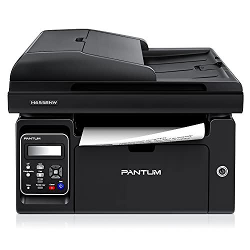 Imprimante Laser Multifonction WiFi Noir et Blanc pour Copie/Impression/numérisation 22ppm Pantum M6558NW