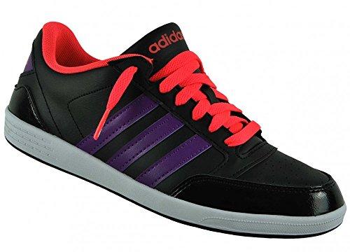 Adidas Neo Vlneo Hoops Lo Damen Black/tripur/redzes, Größe Adidas:4.5