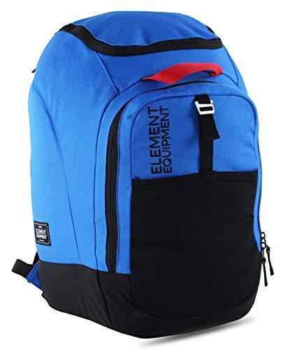 Element Equipment Ultimate Boot Bag Snowboard Ski Backpack Blue Ripstop