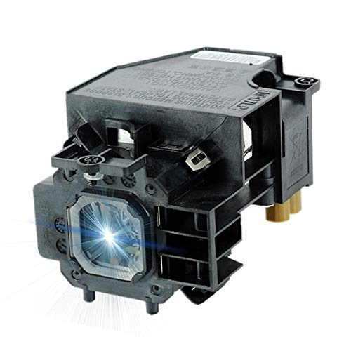 AWO Premium Replacement Lamp NP14LP / LV-LP32 with Housing for NEC NP305,NP310,NP405,NP410,NP510,NP510G for Canon LV-7280,LV-7285,LV-7380