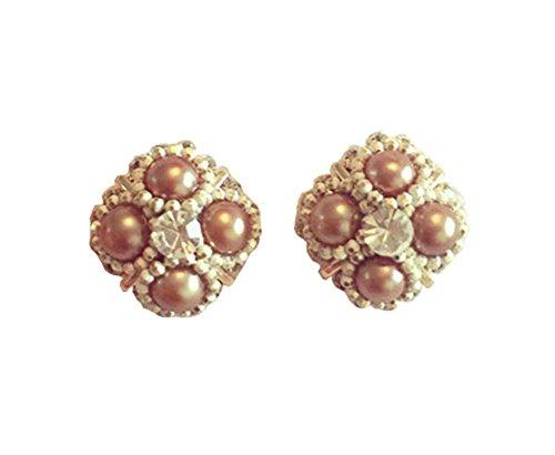 Boucles d'oreilles de style vintage pour les filles belles boucles d'oreilles