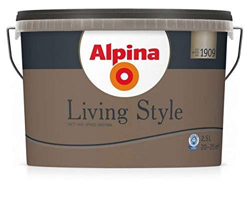 Alpina Living Style, 2,5 Liter, earthy brown, matt