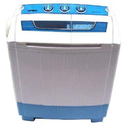 Mini Waschmaschine 5.2kg Miniwaschmaschine + Schleuder, Camping, mit Pumpe, Toplader, 2in1 Waschautomat Schleuderkammer Toploader Reisewaschmaschine Mobile Waschmaschine Wäscheschleuder AWZ