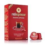 Red Espresso - Rooibos (Redbush) té (10 cápsulas), compatible con Nespresso, natural, vegano, Kosher, sin gluten, sin...