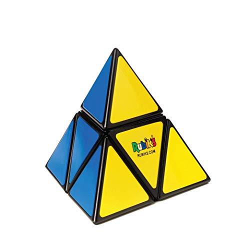 Rubik's Pyramid Pocket Colour-Matching Cubing Puzzle Cube | Rompecabezas Triangular de Bolsillo con diseño de pirámide de Rubik (6062662)