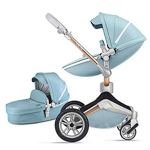 Cochecito de bebé, cochecitos para niños pequeños, kann um 360 ° gedreht werden, baby buggies verfügt über ein drei-wege-stoßdämpfungssystem aus verbundwerkstoffen, das für neugeborene geeignet ist