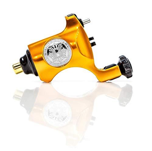Bishop V6 Rotary Tattoo Machine - Orange (RCA - 3.5mm Stroke)