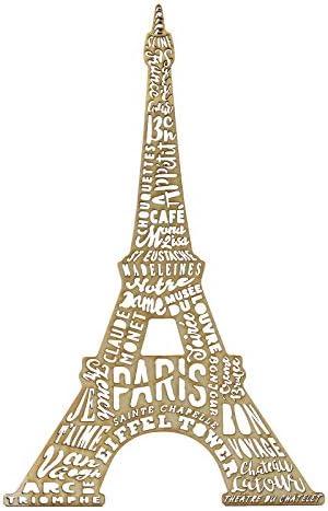 Eiffel tower wood cut out