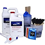 TotalBoat DIY Epoxy River Table Project Kit (Gallon) | Includes Resin, Tools & Pigments | Create Epoxy River Bar Tops, Coffee Tables, Dining Tables, Night Stands & Live Edge Table Tops