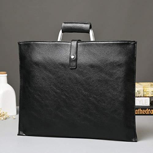 FICI Vintage Heren Aktetas Zakelijke Schoudertassen Lederen Crossbody tassen Laptop Handtas reistassen