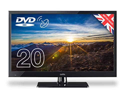 Cello ZSF0202 20' inch LED TV/DVD Freeview HD with Satellite Receiver | 2020 Model | Made In The UK...