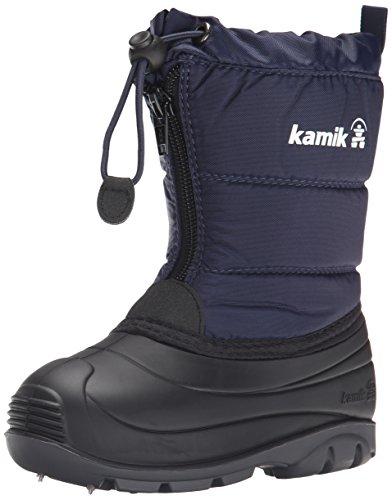 Kamik Icefollies Snow Boot (Toddler), Navy, 5 M US Toddler