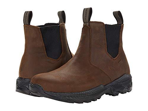 Merrell Men's FORESTBOUND Chelsea Waterproof Boot, Clay, 10.5