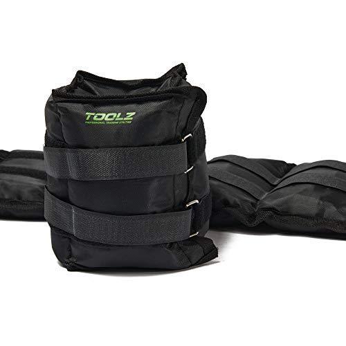 TOOLZ Wrist/Ankle Weight 3 kg – Gewichtsmanschette zur Intensivierung des Trainings – 2er Set