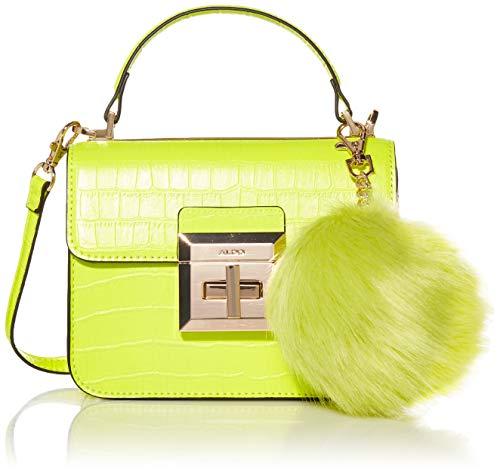 ALDO Chiadda Mini Top Handle Bag, Bright Yellow
