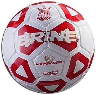 Brine Championship 2014 Soccer Ball (Scarlet, 5)